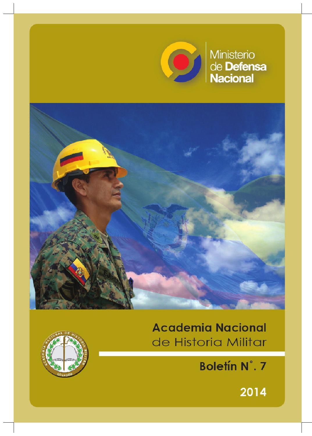 Boletín 7 de la Academia Nacional de Historia Militar by Academia ...