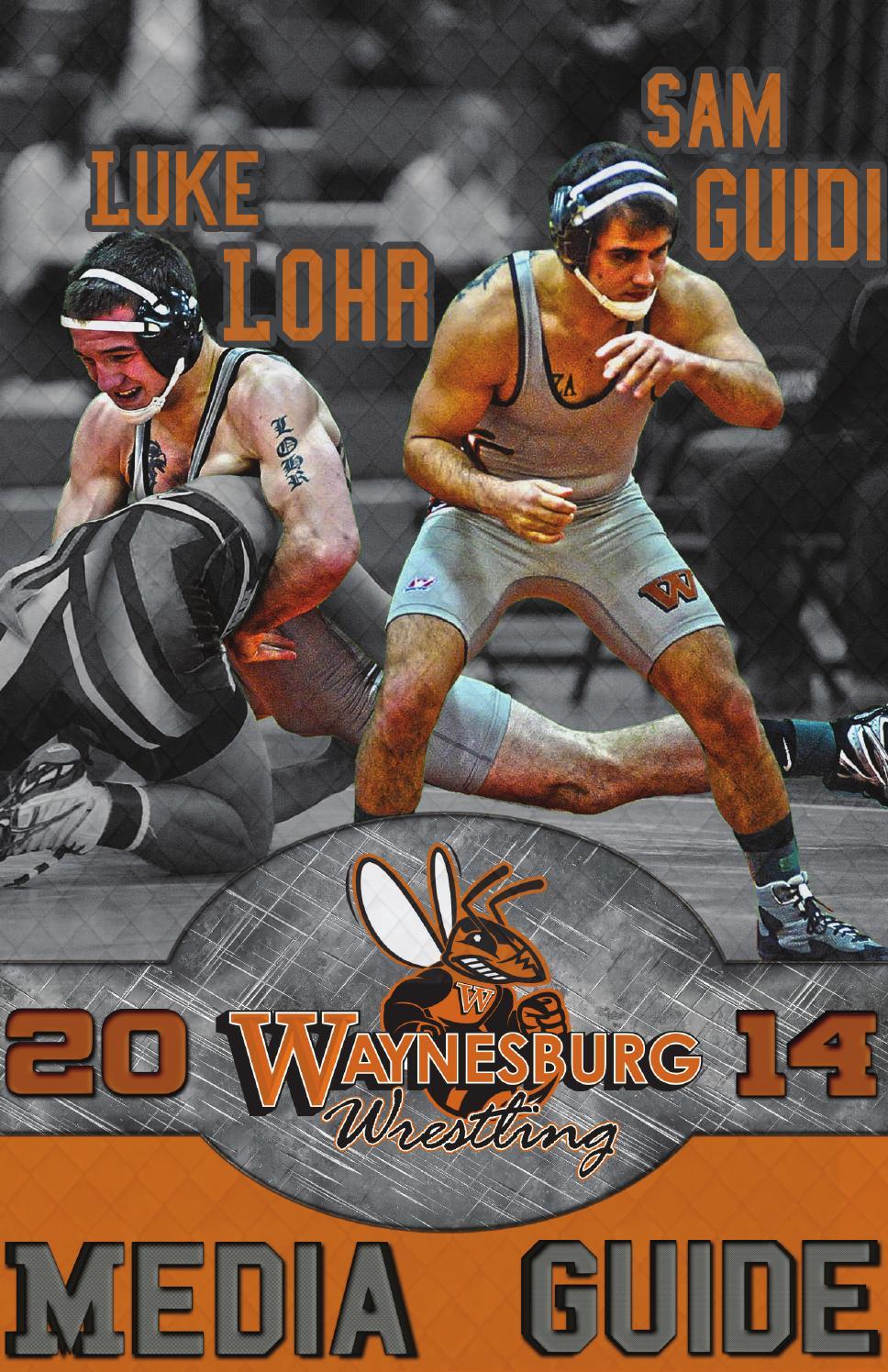 Wrestling Room Design: 2014 15 Wrestling Media Guide By Waynesburg University