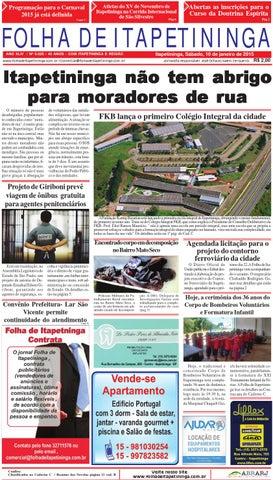 85f3dd9ee4b Folha de Itapetininga 10 01 2015 by Jornal Folha de Itapetininga - issuu