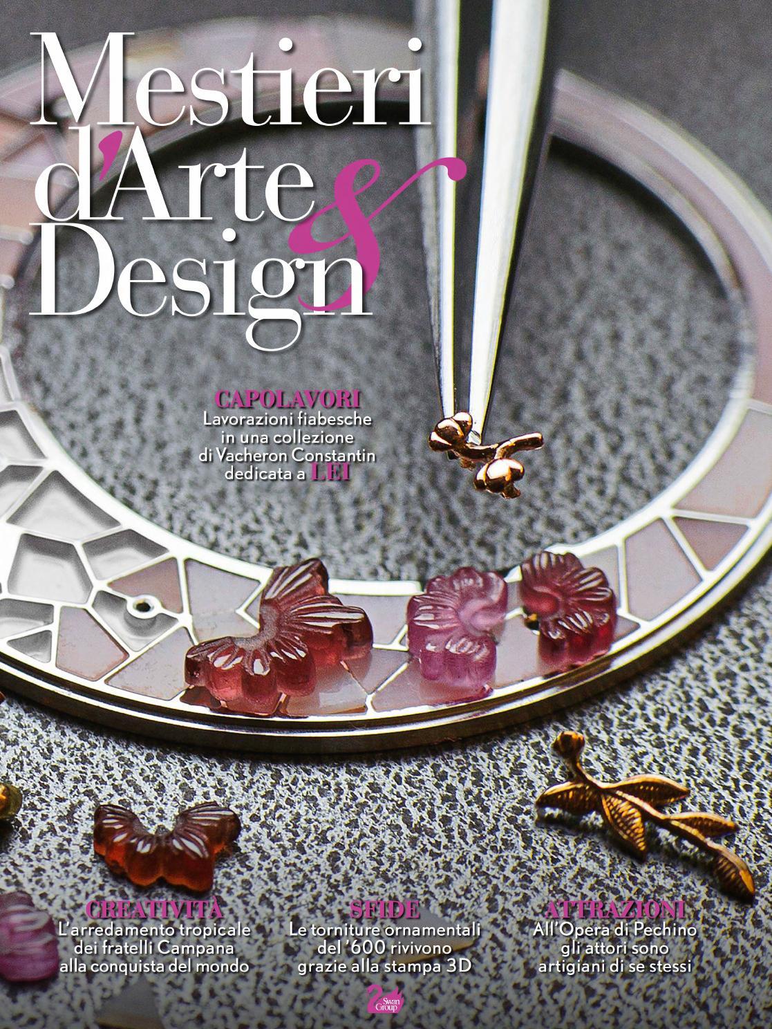 Mestieri d Arte   Design n°10 by Fondazione Cologni dei Mestieri d Arte -  issuu 36912d484cd