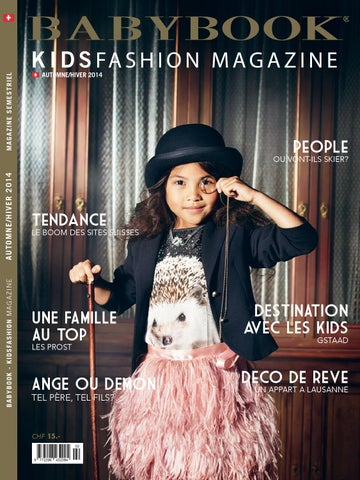Babybook KidsFashion Magazine Automne Hiver 2014 by BABYBOOK ... 6d58e5f0540