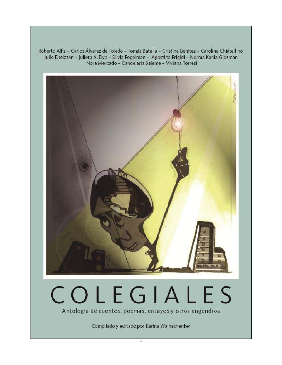 Colegiales. Antología de cuentos 7ef4616838f