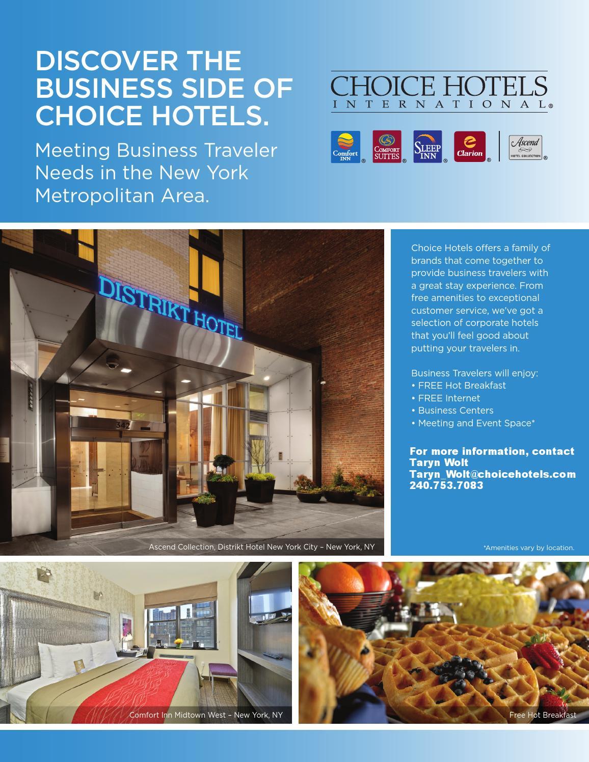 Territory New York Metropolitan By Choice Hotels International Issuu