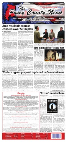 January 13, 2015 - The Posey County News by The Posey County News ... 4ee45424d5