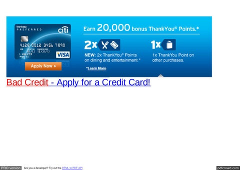bad credit apply for a credit card - Free Prepaid Credit Card