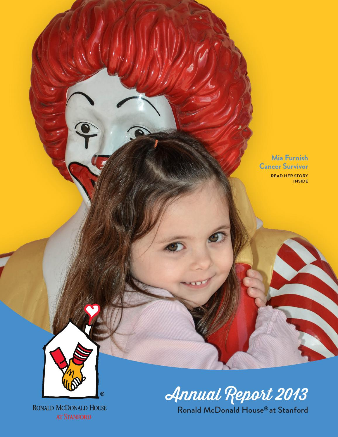 rmhs annual report 2013 by ronald mcdonald house at stanford issuu