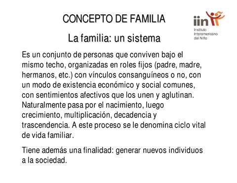 Concepto de familia by Educación Familiar y Ciudadana - Issuu