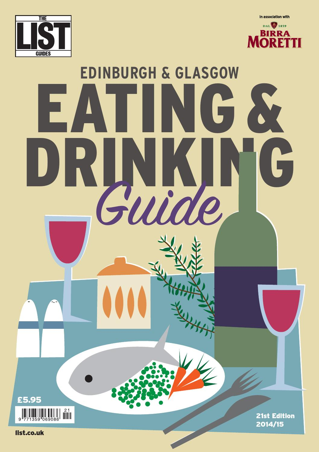 Eating And Drinking Guide 2014 By The List Ltd Issuu