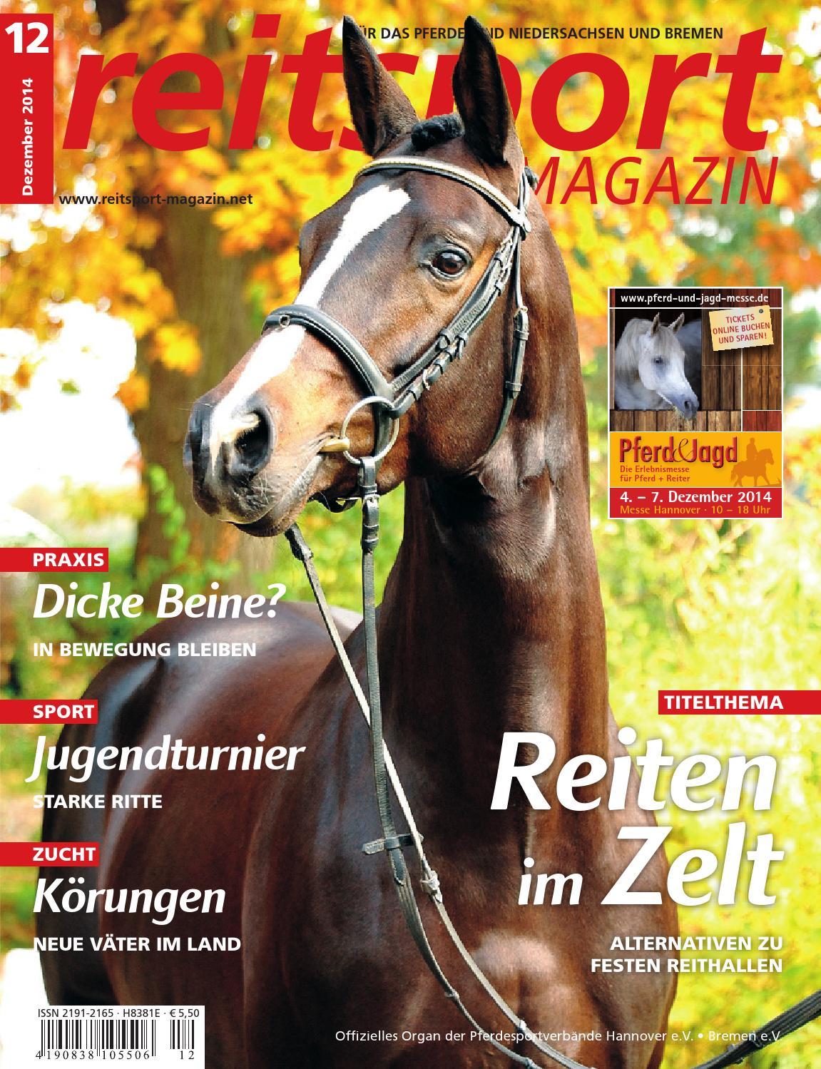 Reitsport MAGAZIN Ausgabe 12/2014 by Paragon