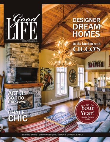 GoodLife Barrie January February 2015 by GoodLife Magazine