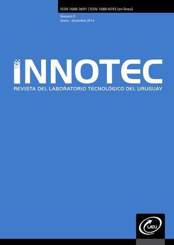 d9f510c5f INNOTEC No.9 2014 by Centro de Información Técnica - issuu