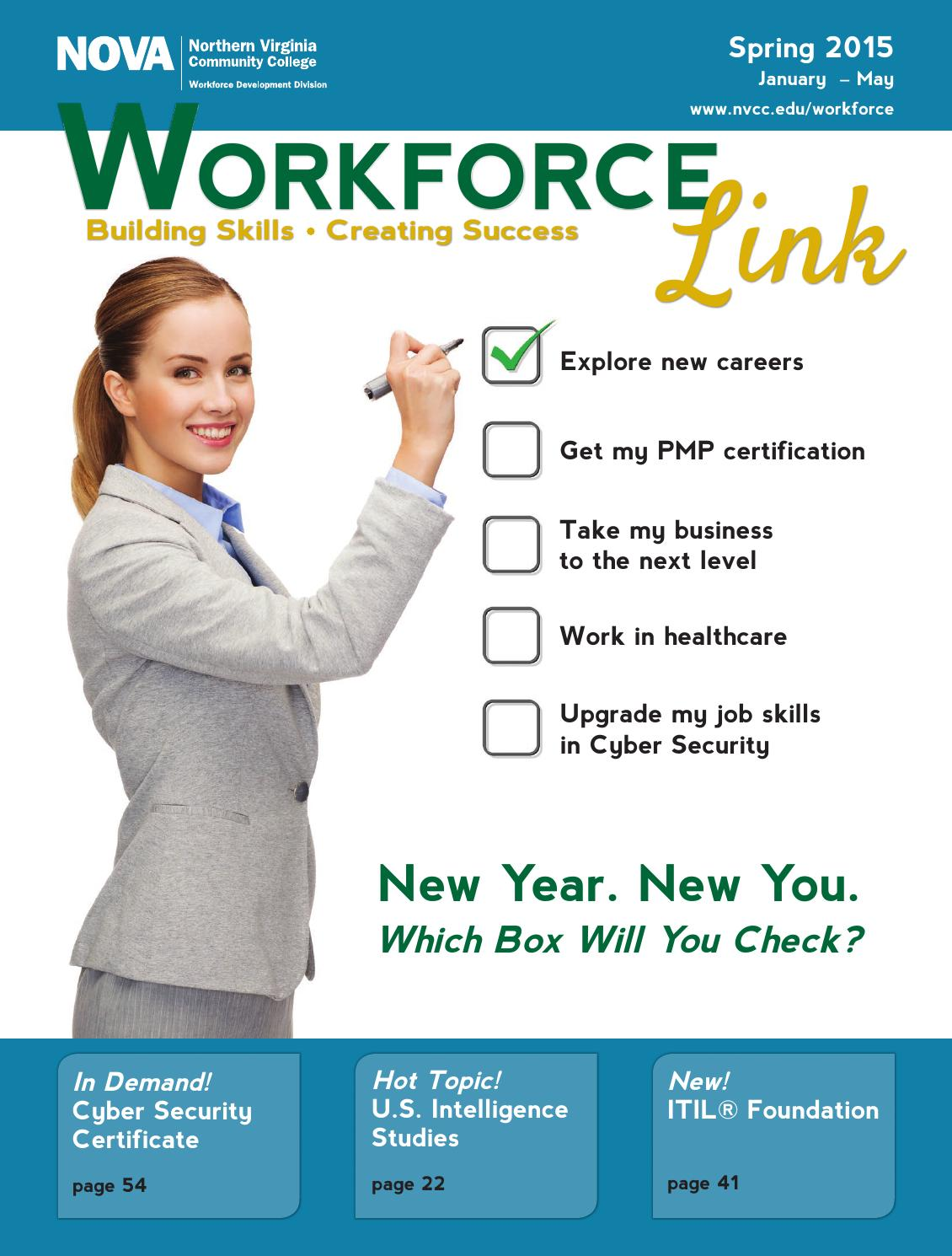 Nova S Workforce Link Spring 2015 By Nova S Workforce Issuu