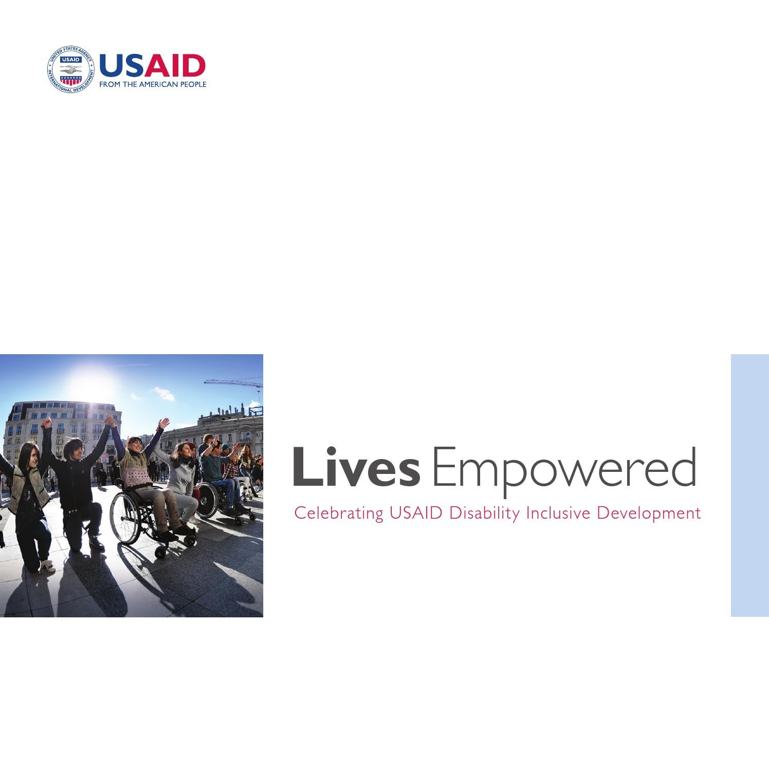 Celebrating Usaid Disability Inclusive Development By