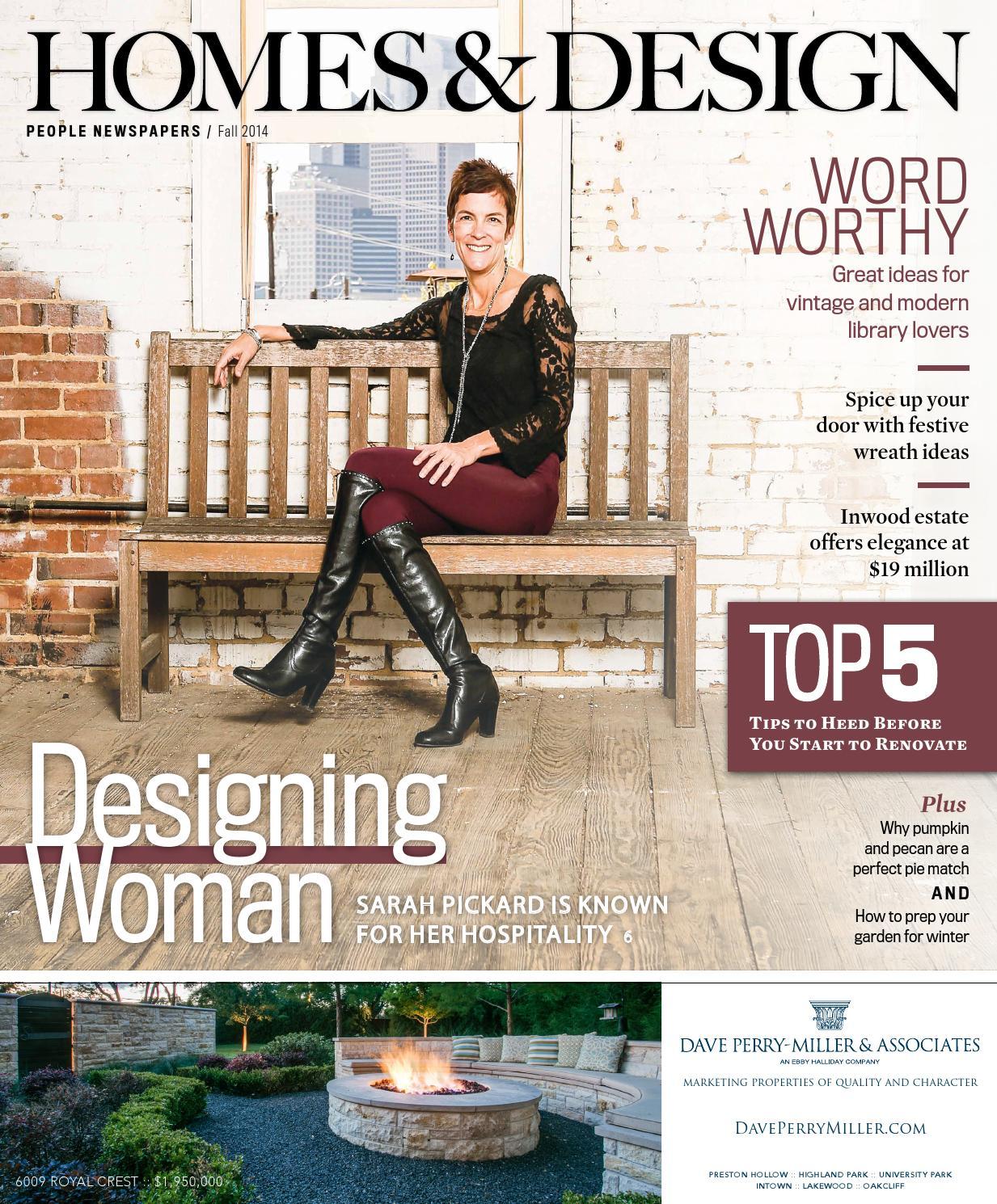 homes  u0026 design - nov  2014 by people newspapers
