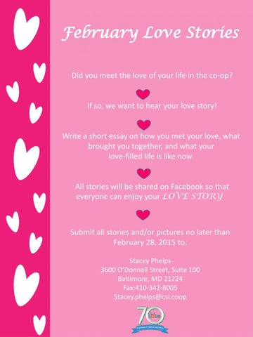 how to write a short love story