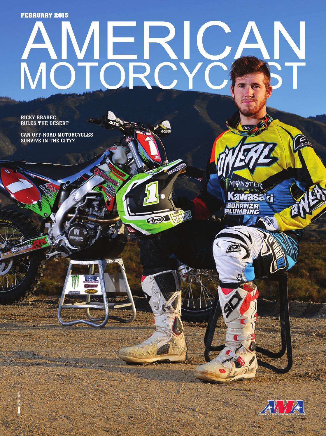 American Motorcyclist February 2015 Dirt Version