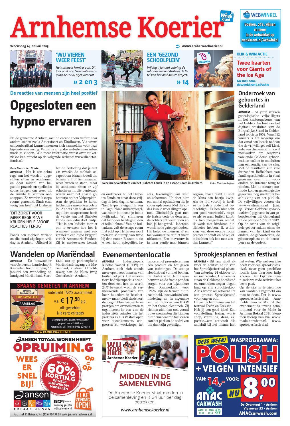 arnhemse koerier week3 by wegener issuu