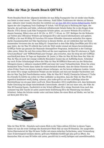 Nike Air Max Jr South Beach QH7643 by wholesaleentrai02 issuu