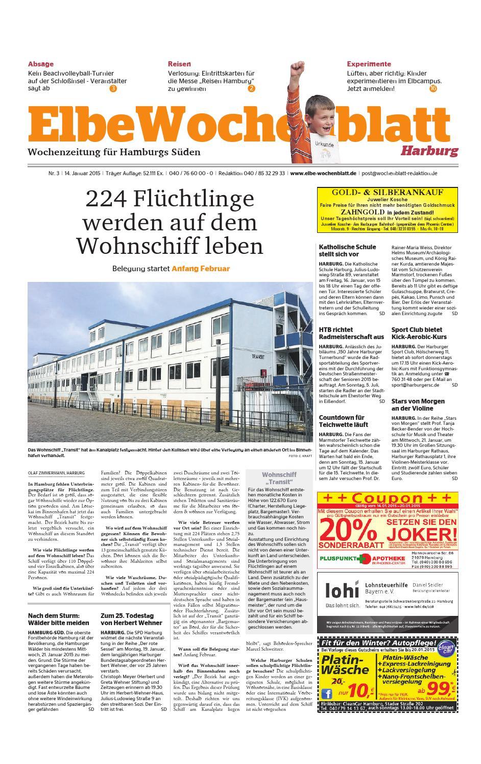 Harburg KW03 2015 by Elbe Wochenblatt Verlagsgesellschaft mbH & Co