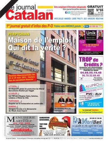le journal catalan n 66 premier journal gratuit d 39 informations et de petites annonces des p o by. Black Bedroom Furniture Sets. Home Design Ideas