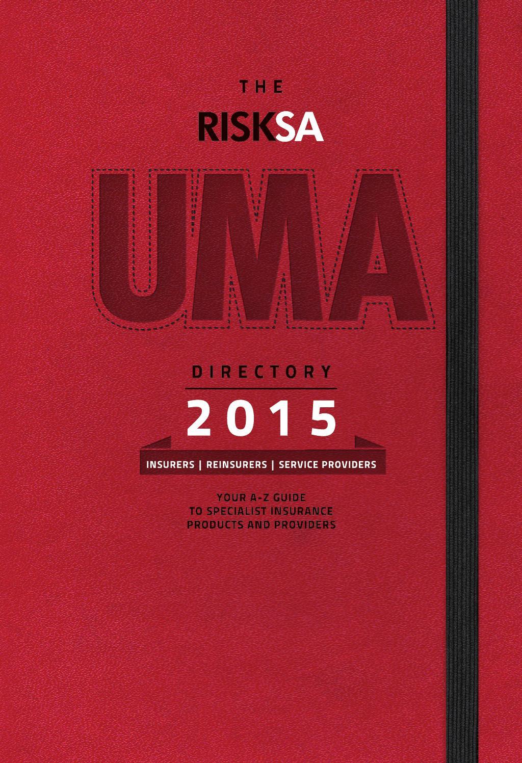 RISKSA UMA Directory 2015 by COSA Media - issuu