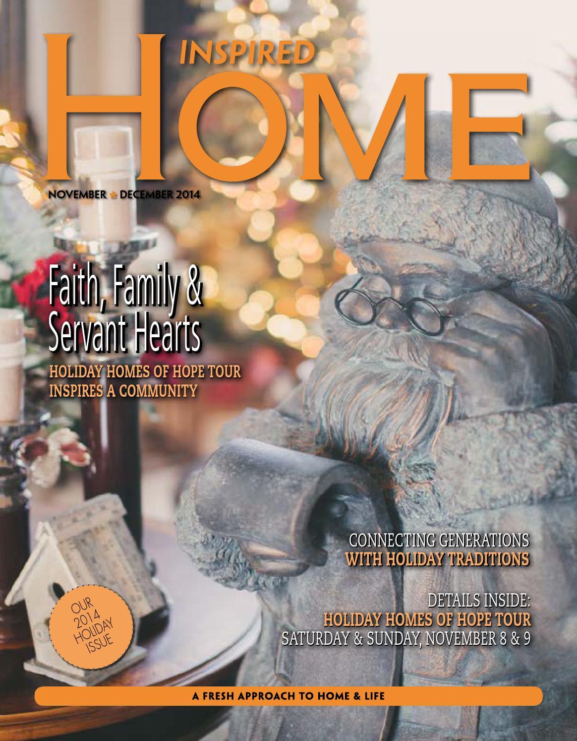 Inspired Home Magazine - November/December 2014 by Inspired Home Magazine  Fargo - issuu