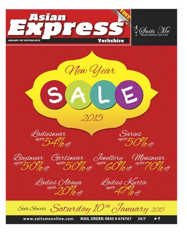 Asian Express Yorkshire January 1st Edition 2015 By Asian