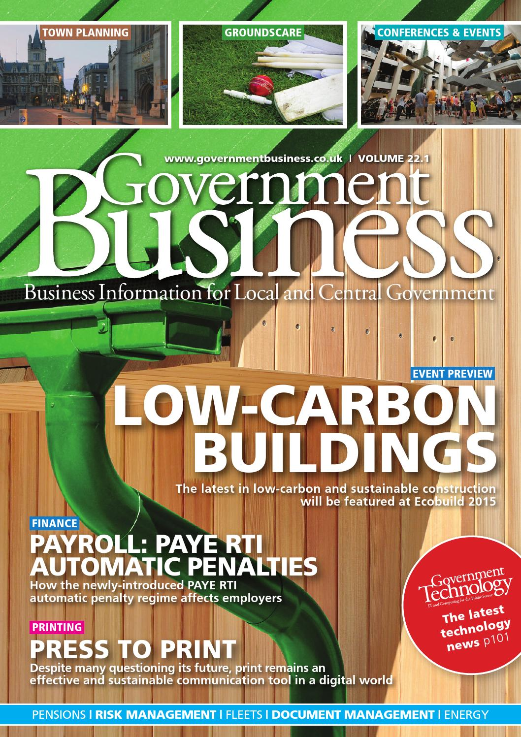 Government Business 22 1