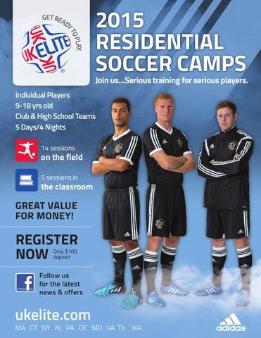 eb20f9461 UK Elite Soccer 2015 Residential Brochure by UK Elite Soccer / FCUSA ...