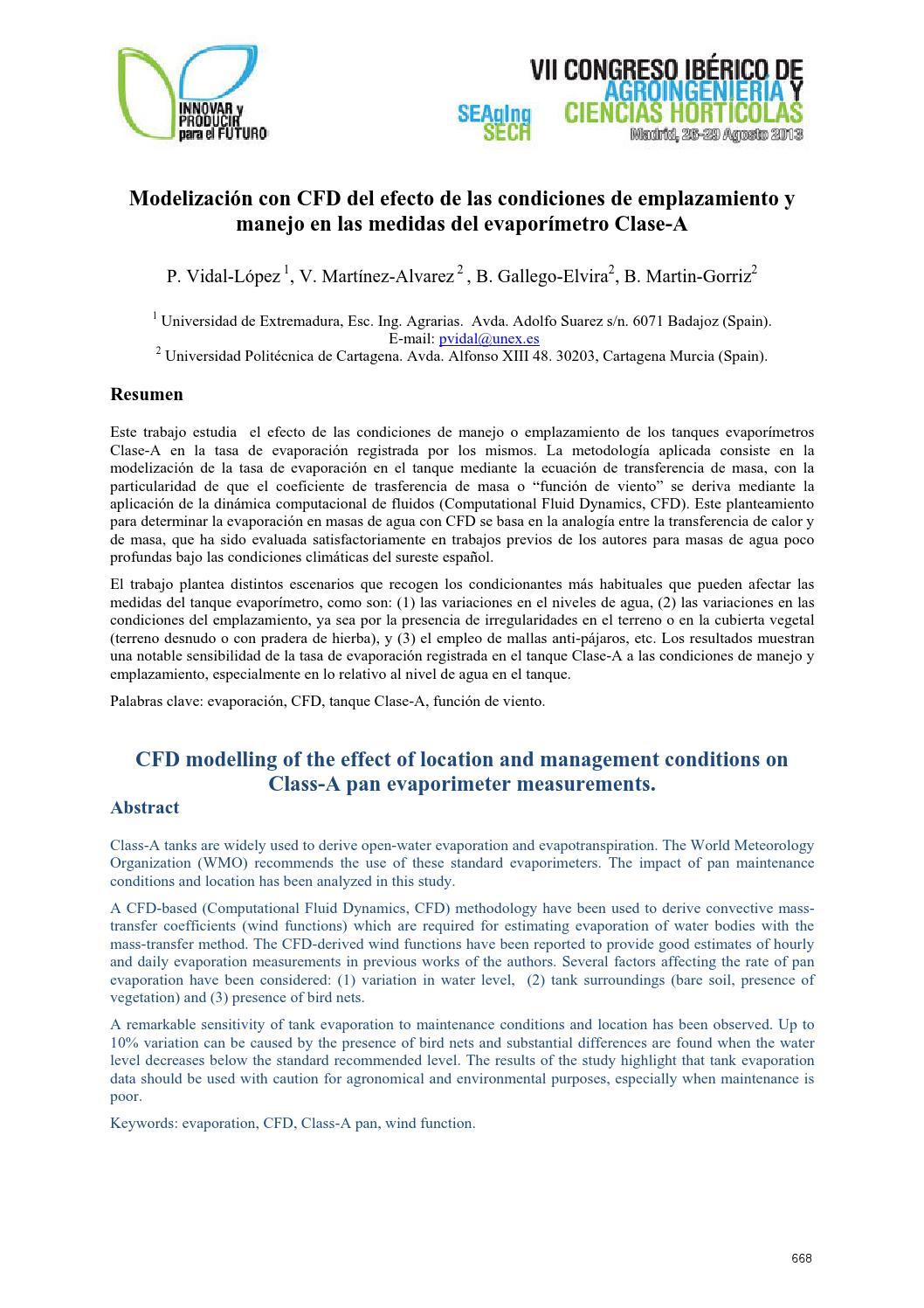 Libro Actas, VII Congreso Ibérico Agroingeniería y Ciencias ...