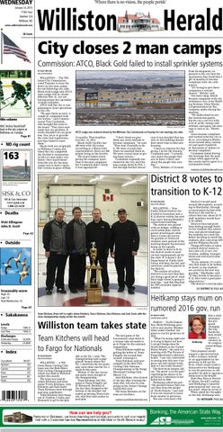 williston north dakota newspaper