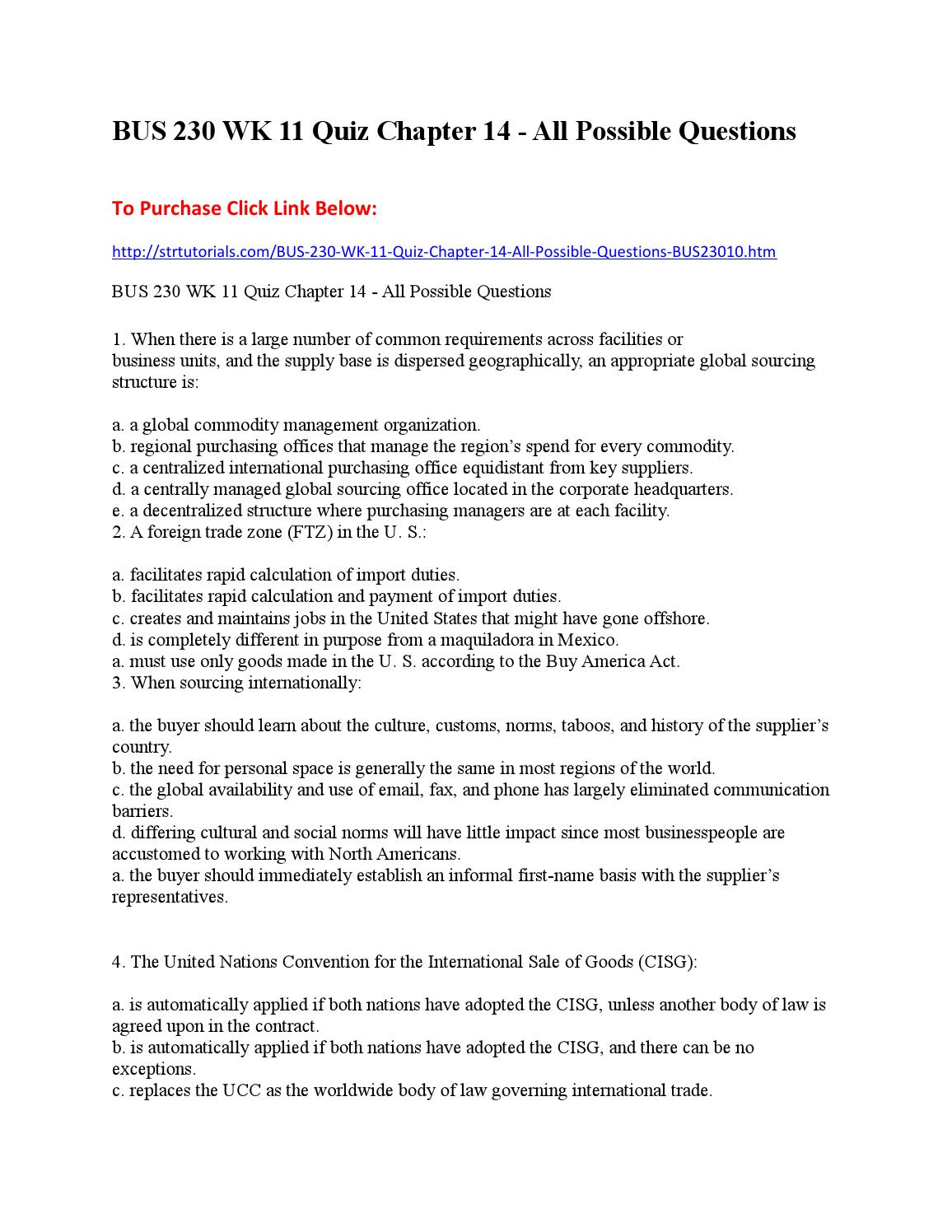 chapter 2 international management quiz View notes - mng00313 international management weekly quiz 2 from mng 00313 at southern cross competencies of company and organizational capabilities of company q4) cooperation agreement is.