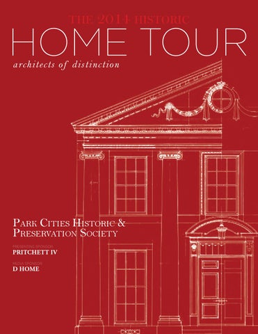 Park Cities Historic & Preservation Society, Home Tour