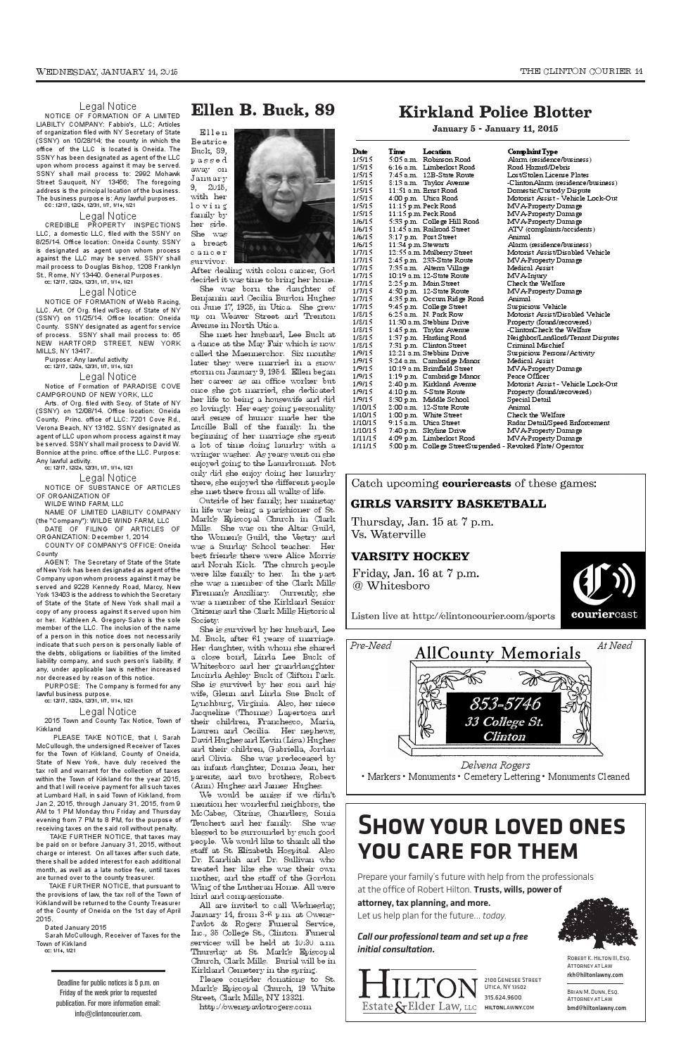 2014 oneida county tax rolls - 2014 Oneida County Tax Rolls 22