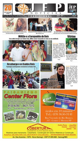 d95e2f9f2 Jfp noticias 609 web by Jornal Folha do Povo Monte Santo - issuu