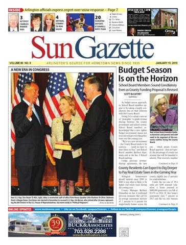 Sun Gazette Arlington January 15 2015 By Northern