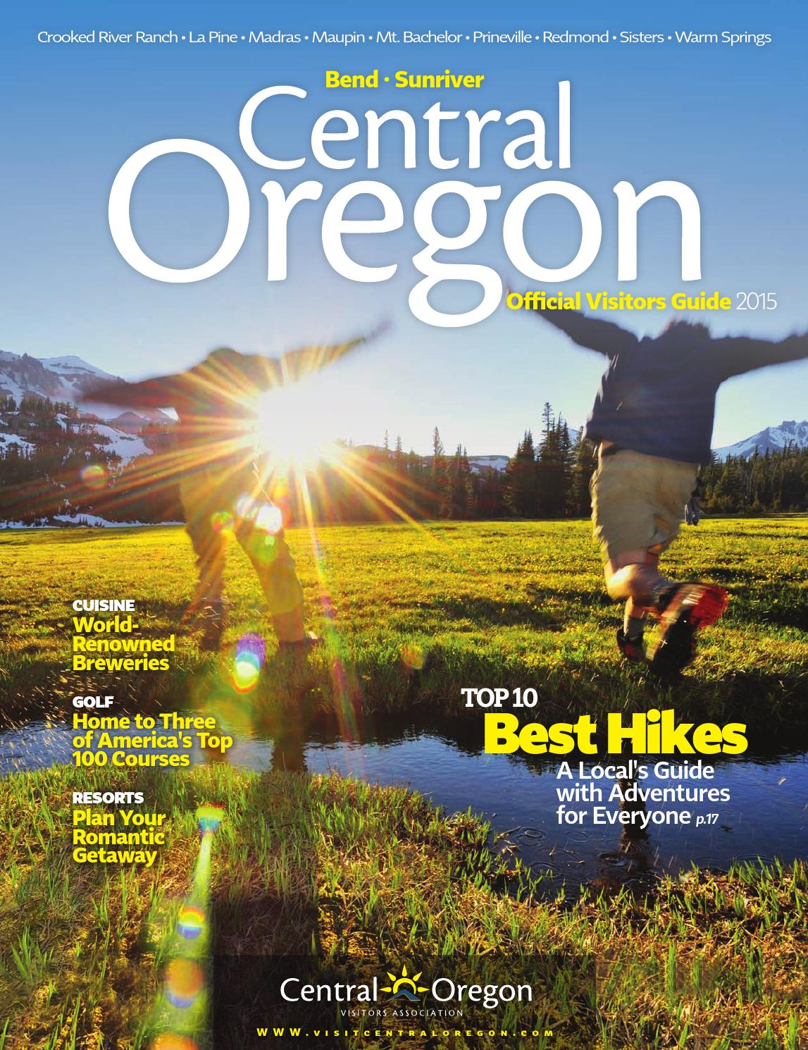 2015 Official Visitors Guide for Central Oregon by Central Oregon Visitors  Association - issuu