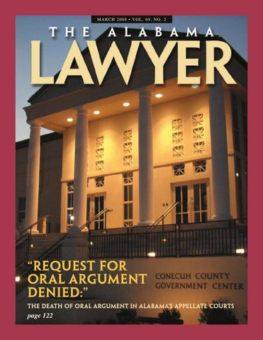 Lawyer Mar 2008 Web By Alabama State Bar Association Issuu
