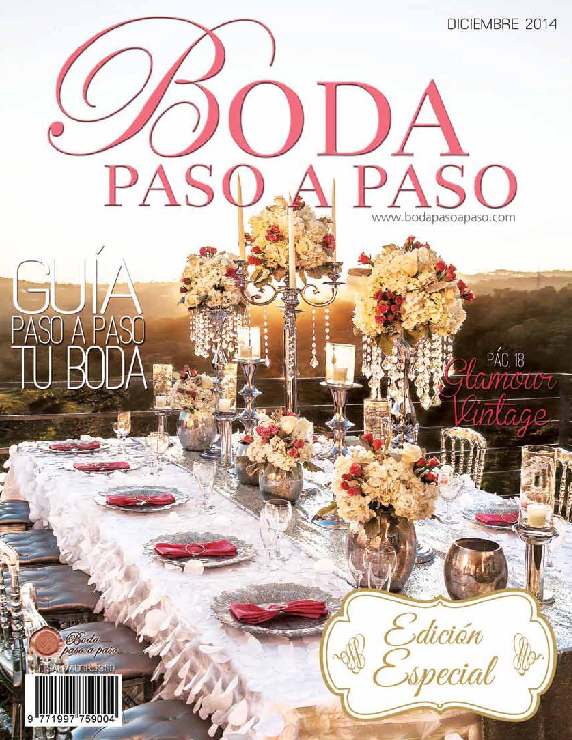 Revista Boda Paso A Paso Edicion Especial Diciembre 2014 By