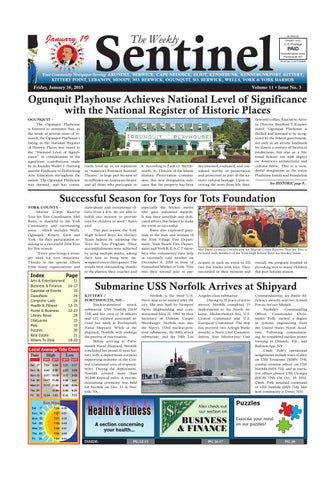 Ws jan 16 2015 by weekly sentinel issuu page 1 fandeluxe Image collections