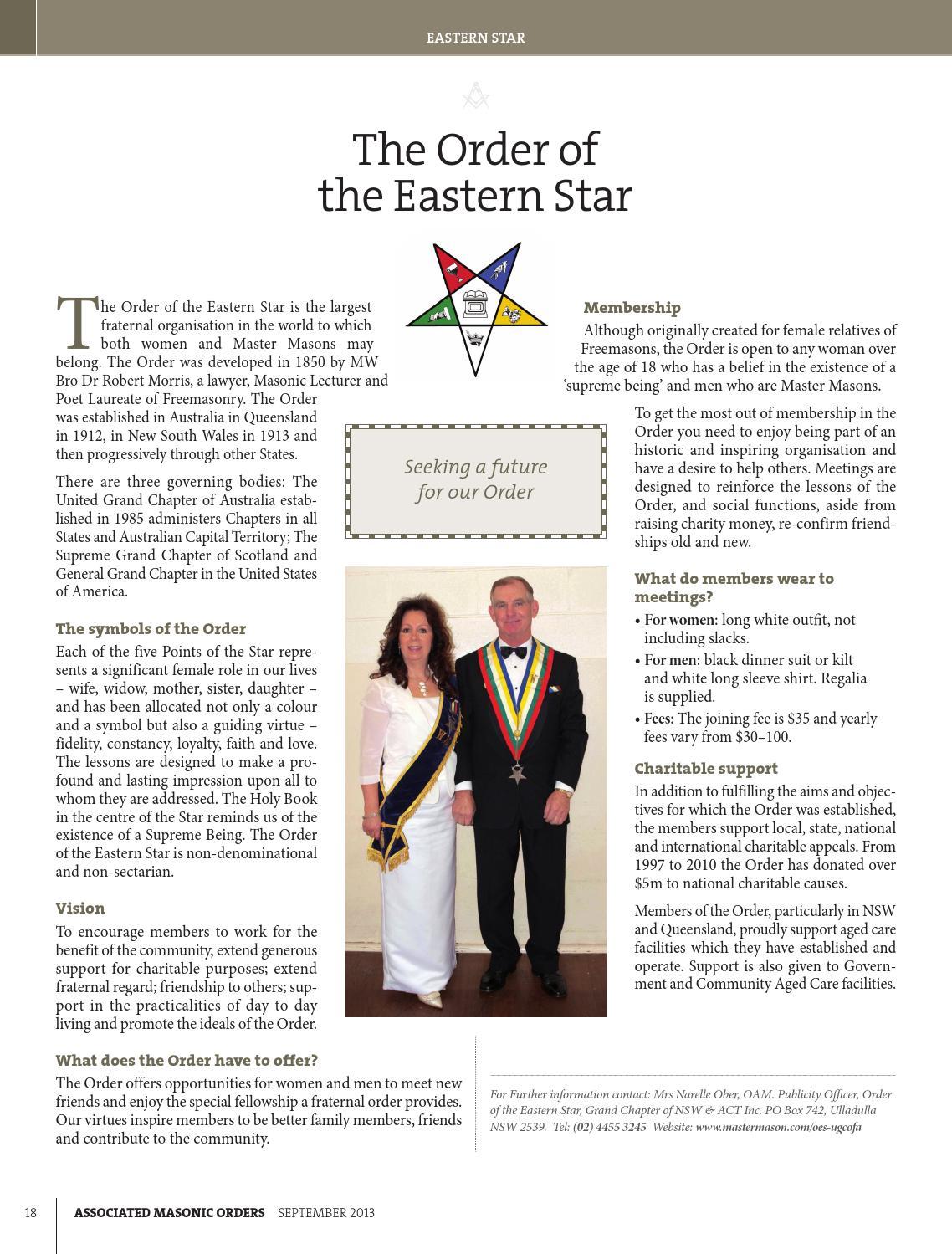 Freemason NSW & ACT – Associated Masonic Orders by APM Graphics