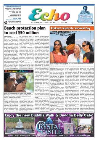 Byron Shire Echo Issue 2036 31 01 2006 By Publications