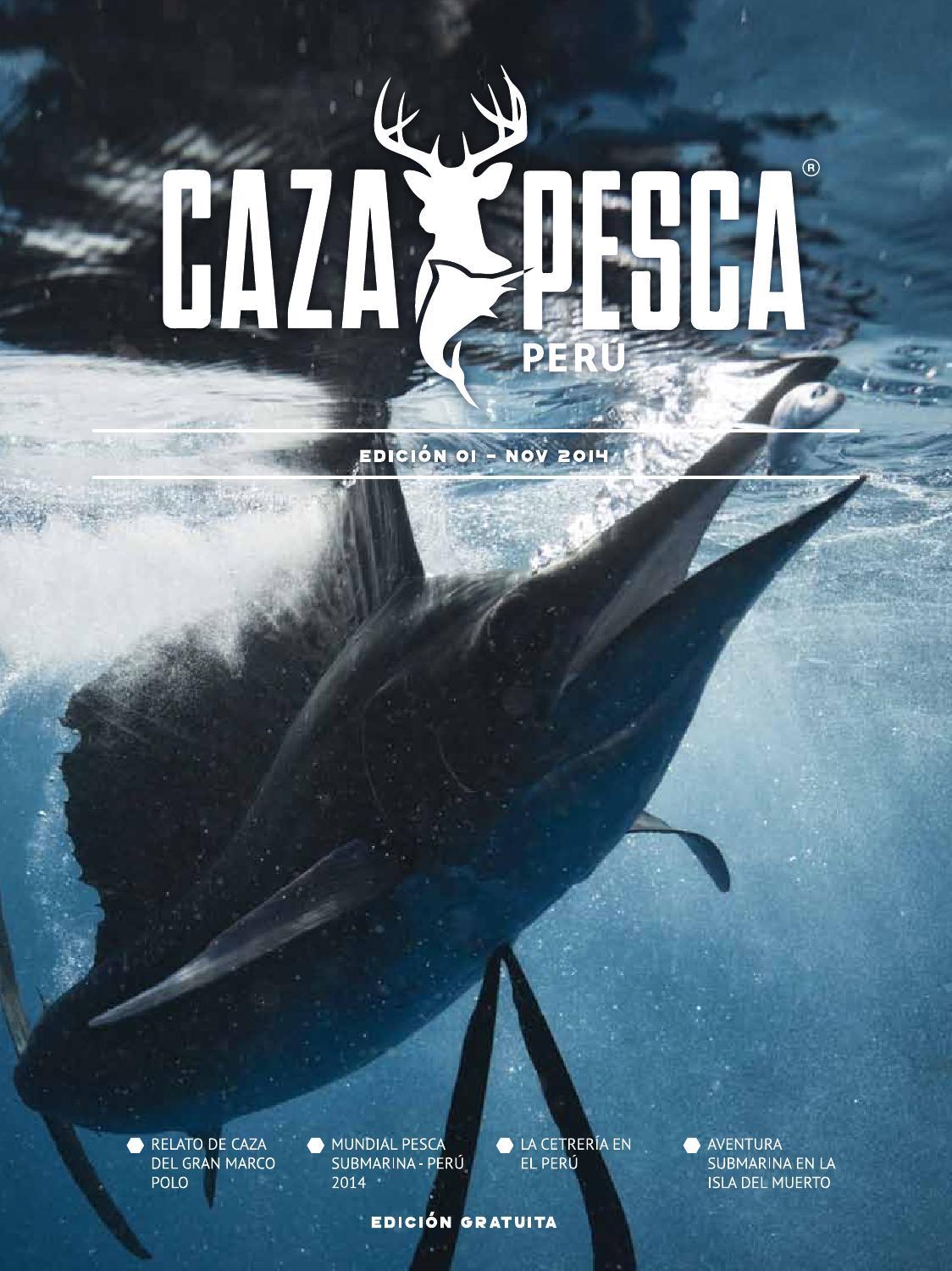 Caza y Pesca Perú 1era Edición by Caza y Pesca Perú - issuu