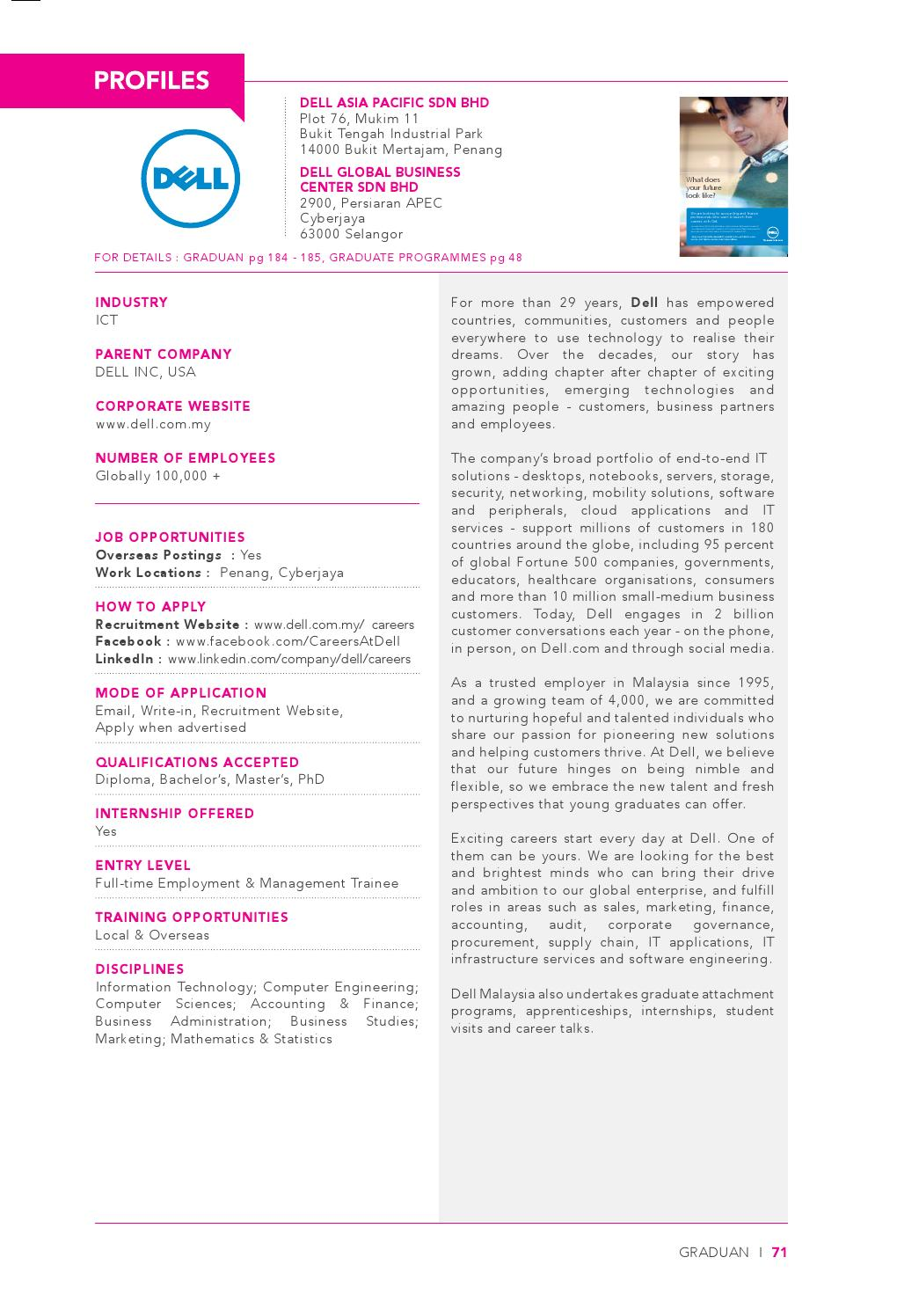 GRADUAN 2014 - Employer's Profile by GRADUAN - issuu