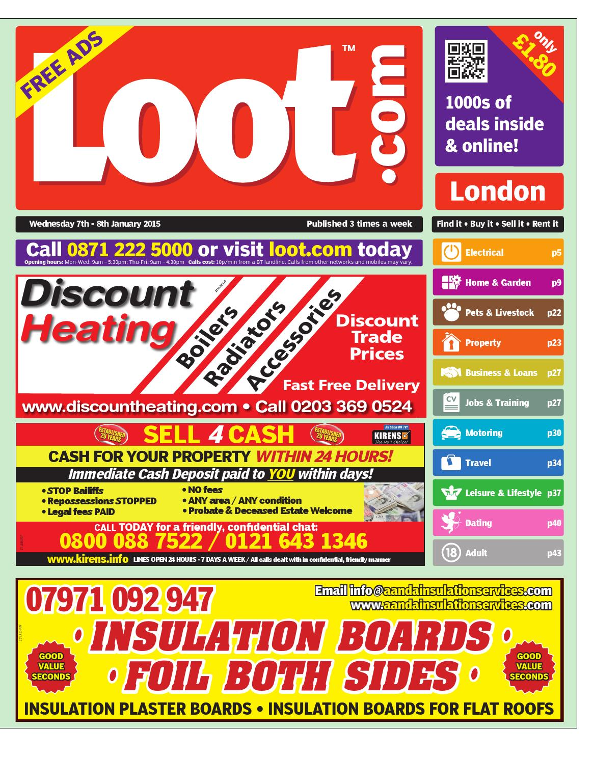 Loot London, January 7th 2015 by Loot issuu