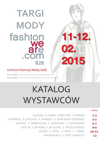 66e361a3e7 Katalog Targi Fashionweare B2B by Gajos Fashion - issuu