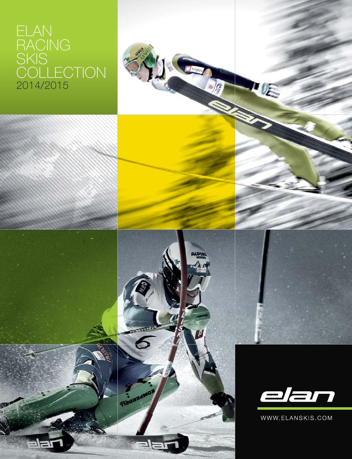 2013 2014 2015 New Elan Race GSX Amphibio Plate FIS racing skis 183 188 195 cm
