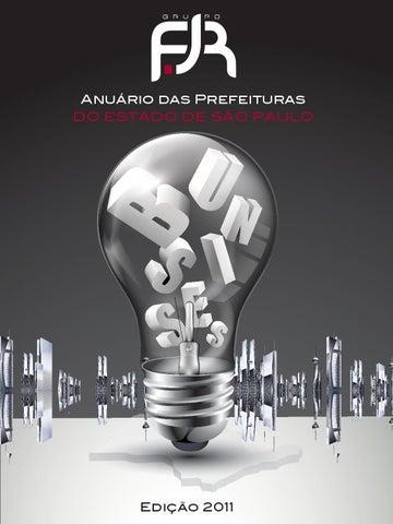 69500f8ec5 Anuário das Prefeituras 2011 - Grupo FJR by Anderson Oliveira - issuu