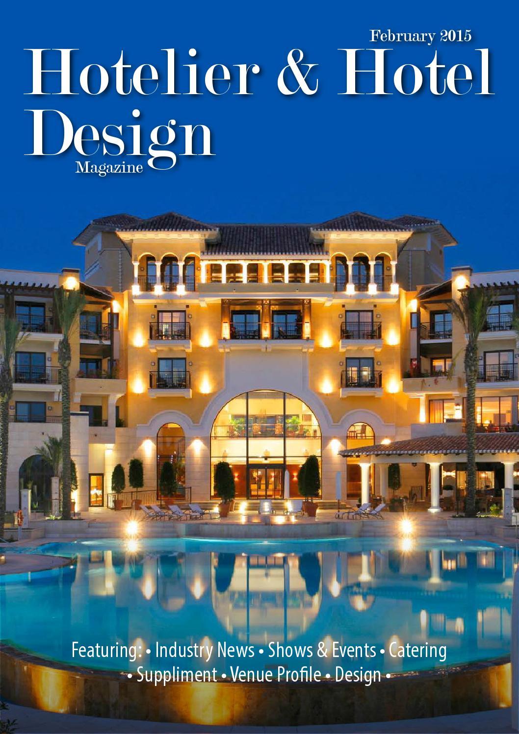 Hotelier hotel design february 2015 by jet digital for Design hotels 2015