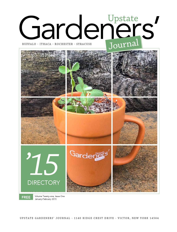 Ugjdirectory2015 By Upstate Gardeners Journal